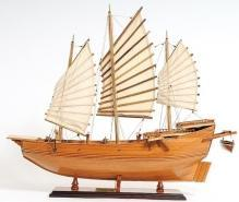 New Model Ship Chinese Junk OM-9
