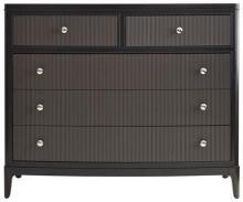 Media Chest STANLEY FURNITURE WICKER PARK Bowed Reeded Drawer Fronts Fli ST-2293