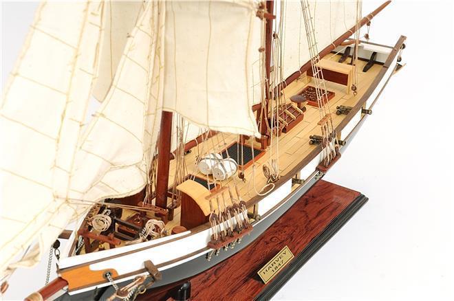 New Model Ship Harvey Painted OM-228