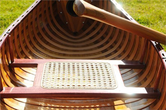 Canoe With Ribs 6-Ft Wooden Western Red Cedar Canadian glass Wood New OM-99