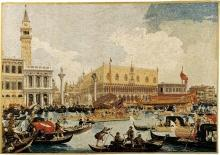 Tapestry DAVID MICHAEL TAPESTRIES Venice Reproduction of Cataletto