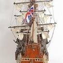 Model Ship Sovereign of the Seas Boats Sailing Wood Base Wooden Western R OM-213