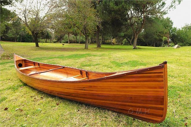Canoe 18-Ft Clear Marine Vanish Varnish West