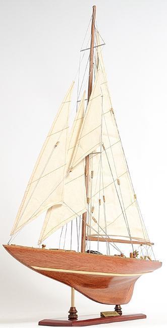 Model Sailboat Enterprises Small Wooden Wood