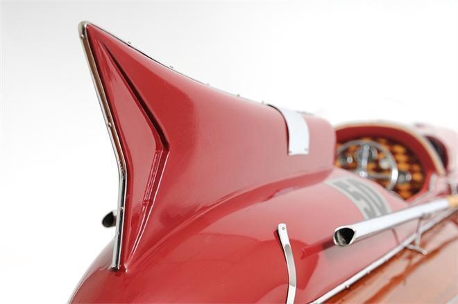 Model Motorboat Ferrari Hydroplane Boat Red