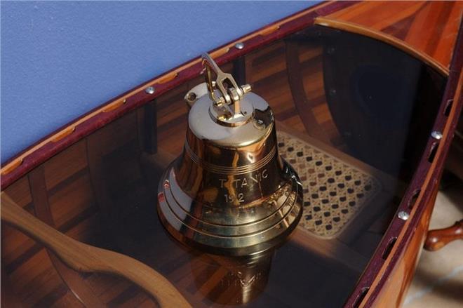 Ship Bell Titanic Bulkhead Mount Bracket