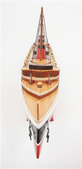 Model Ship Normandie Boats Sailing Large