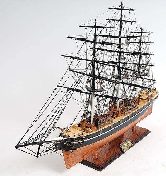 Model Ship Cutty Sark Boats Sailing No Sail