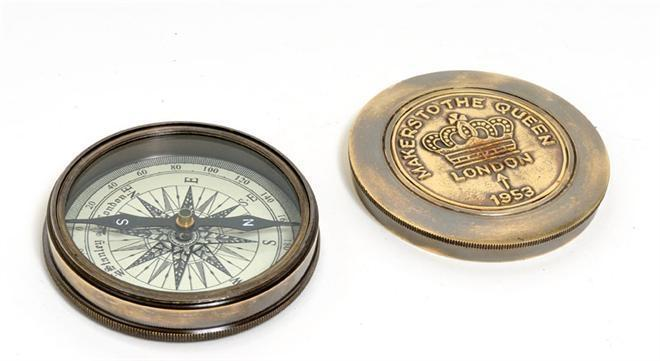 Compass Makers to the Queen Leather New