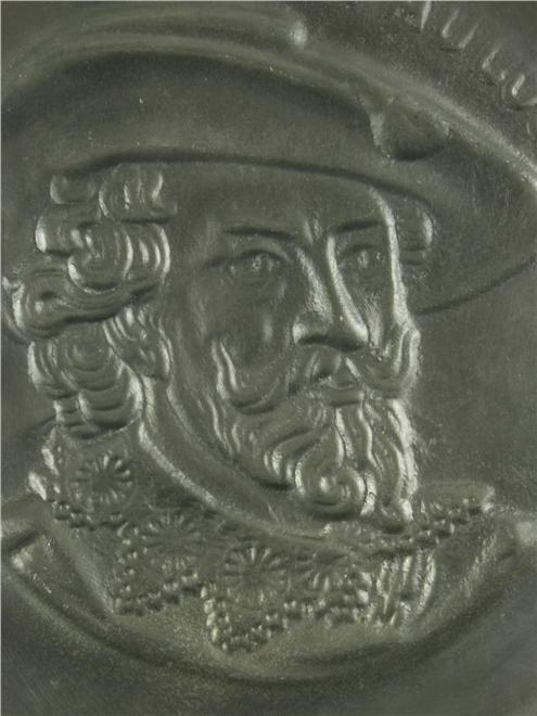 Plate Decorative Peter Paul Rubens Pewter
