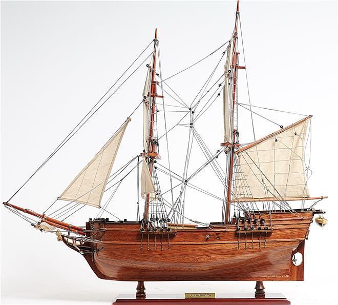 Model Ship Lady Washington Boats Sailing
