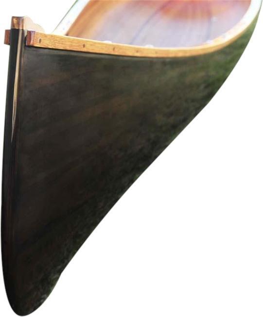 Canoe 18-Ft Dark Stained Marine Vanish