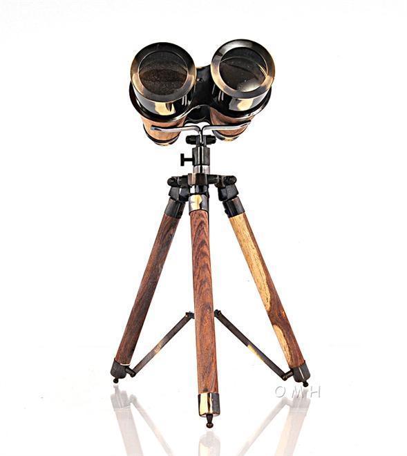 Binoculars Victorian Tripod Bright Annealed
