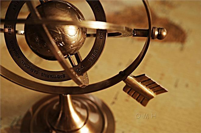 Armillary Sphere Bright Annealed Brass New
