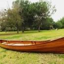 Canoe 18-Ft Marine Vanish Clear Varnish