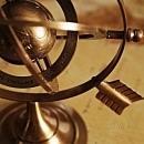 Armillary Sphere Bright Annealed Brass New