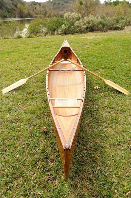 Canoe 18-Ft Clear Marine Vanish Varnish