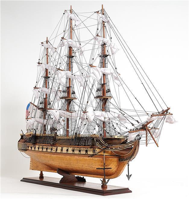 New Model Ship Copper Bottom USS