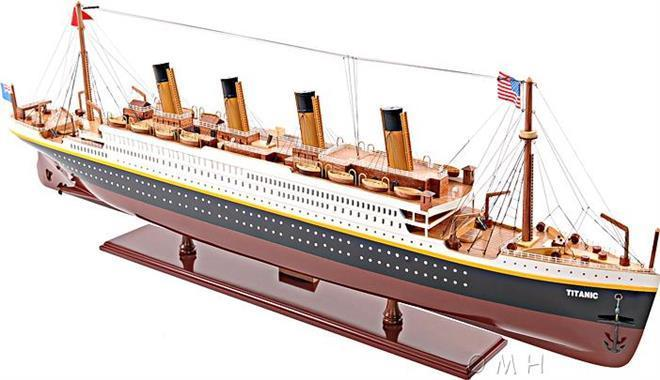 Model Ship Titanic Boats Sailing Medium