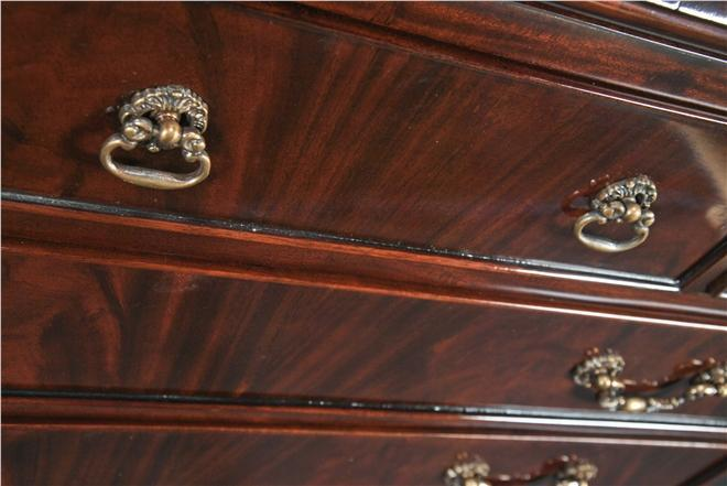 Secretary Desk Pigeonholes Dovetailed