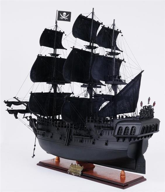 Model Pirate Ship JACK Black Pearl Boats