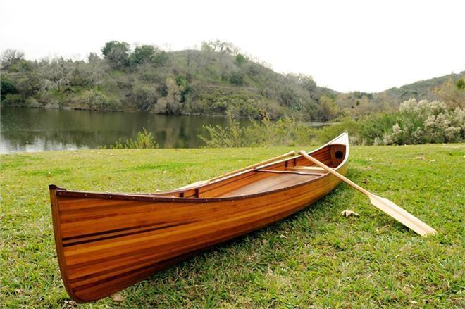 Canoe 16-Ft Clear Marine Vanish Varnish
