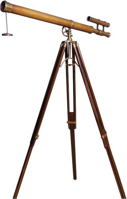 Telescope Nautical Tripod Stand Double