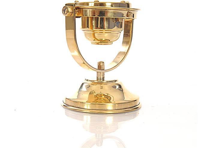 Compass GIMBALED Nautical Shiny Brass Golden