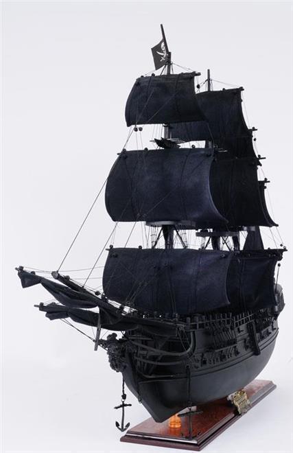 Model Pirate Ship JACK Black Pearl Boats