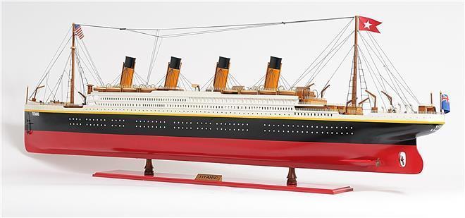 Model Ship Titanic Boats Sailing XL Painted