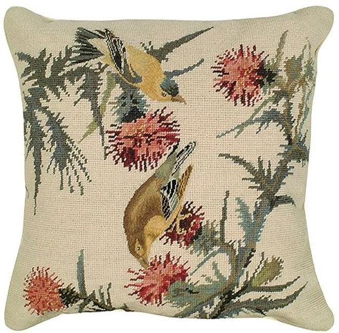 Throw Pillow Needlepoint Licensed By The