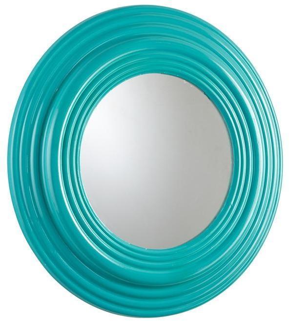 Wall Mirror CYAN DESIGN CAIN Blue Mirrored