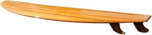 Surfboard Longboard Western Red Cedar Epoxy