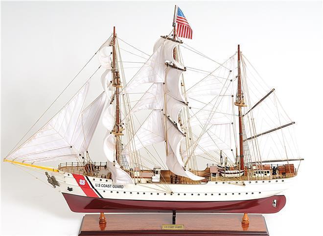 Model Ship US Coast Guard Eagle E.E.