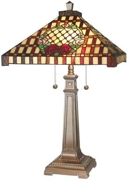 Table Lamp DALE TIFFANY Mission 2-Light