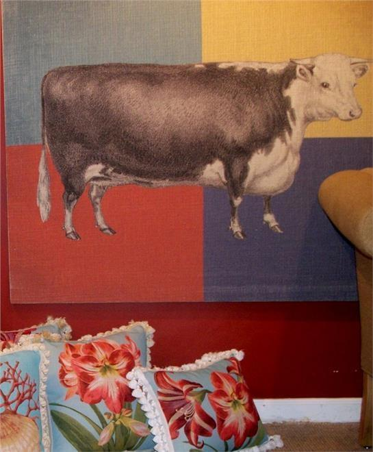 Tapestry TAPESTRIES LTD English Cow 48x42