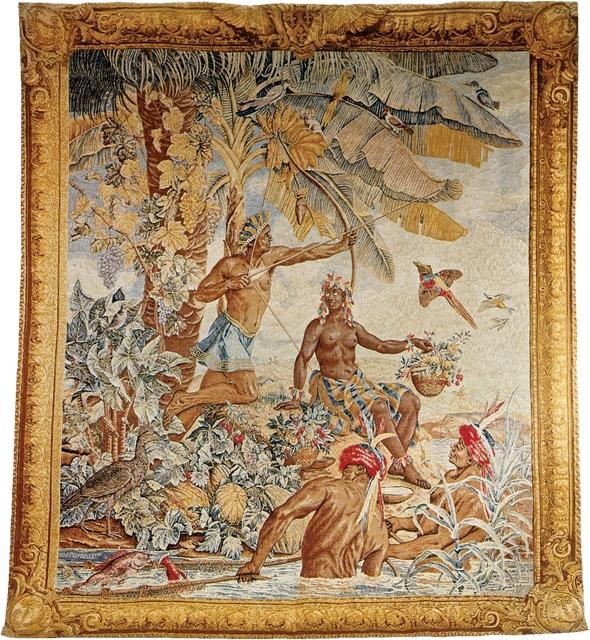 Tapestry DAVID MICHAEL TAPESTRIES Indian