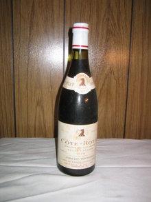 Cote Rotie 1970 Brune et Blonde