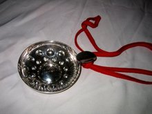 Silver Wine Tester Cup