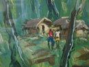 Pigmees village 1950