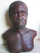 Sculpture of a Afro Man early 19 century