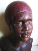 Haitian 18 century Woman sculpture