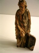 Spanish Colonial Moise wood sculpture 15