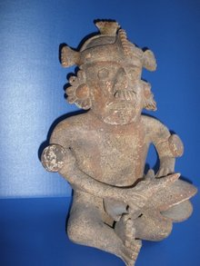 Nayarit God 400 BC Pottery