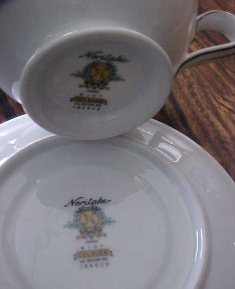 Noritake China Cup & Saucer Colburn 6107 buy 1 or more