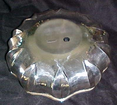 Fruit Bowl Silver Plate Hammer Polished Finish Italy