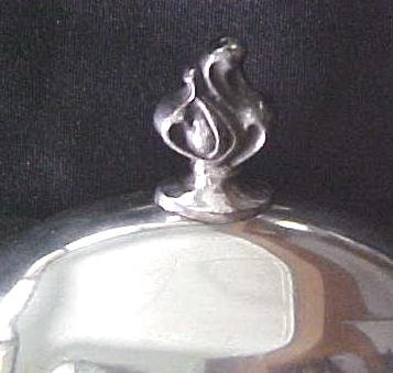 Silver Plated Covered Butter Dish Glass Base