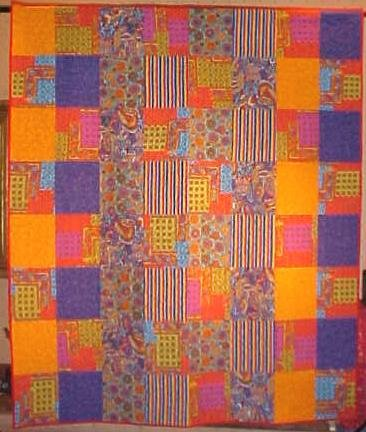 Quilt Gypsy Dance 66 x 77.5 Throw / Wall Hanging