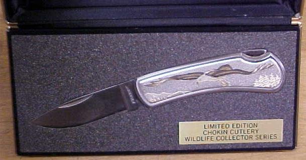 Sharp Knife Wildlfe Series Eagle Limited Edition & Case