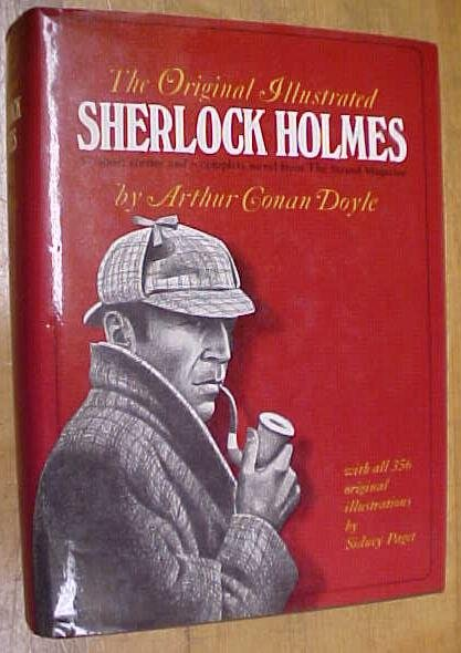 Original Illustrated Sherlock Holmes 1980